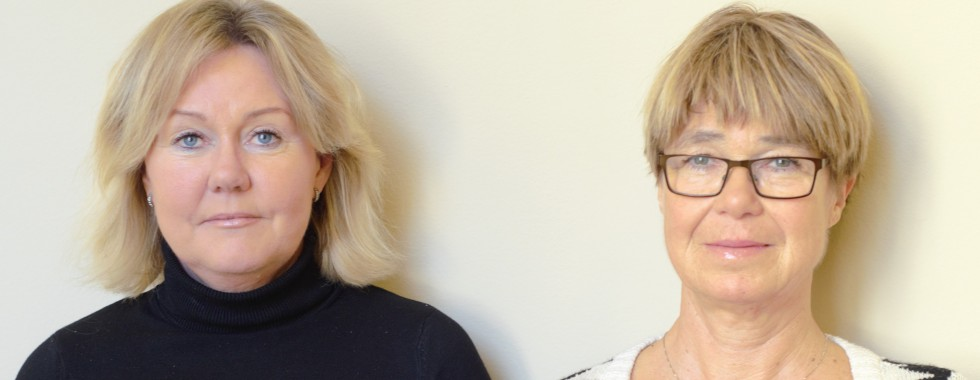 Swedish teachers Åsa Terén and Margareta Jonasson.