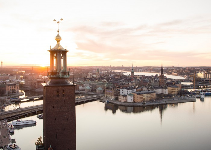 Stockholm City Hall in Sweden