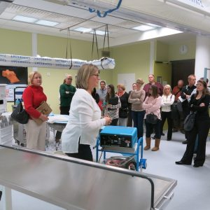 American students visit Karolinska hospital during course in Sweden's healthcare system