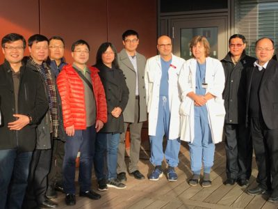 Chinese Thoracic surgeons visit Sweden